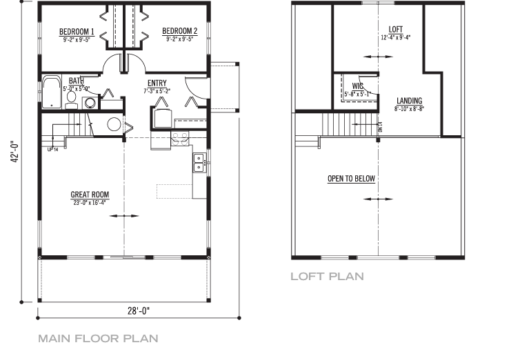 Mt. Baker Floorplan
